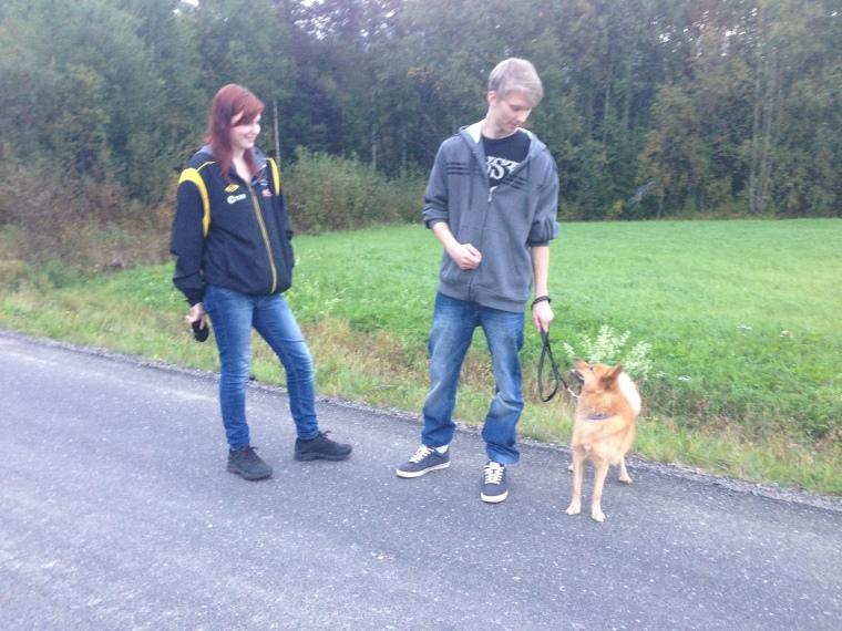 Maja, Henrik och Thea. Kolla in vilken fin kontakt de har!