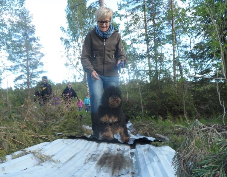 Susanne och Hugo var trygga på plåten.