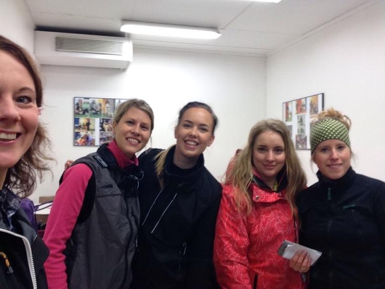 Jag, Jannice, Julia, Viktoria och Sara.